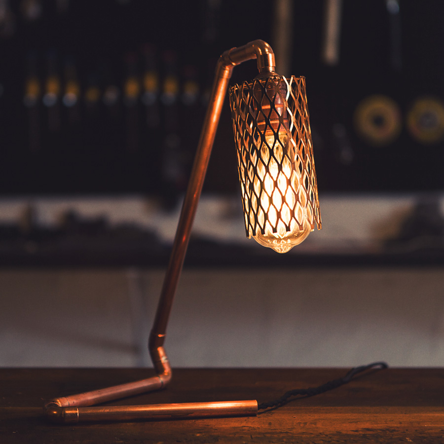 Image result for copper lamp